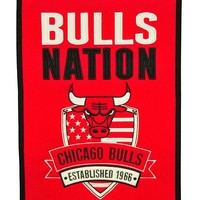 Chicago Bulls Wool Nations Banner
