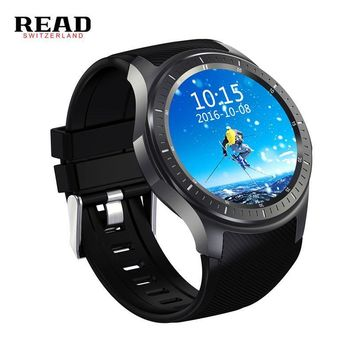 READ new Dial Call quad core 512MB+8GB RAM Heart Rate Monitor smart Watch Android 5.1 3G/WiFi/GPS