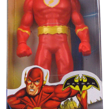 "Mattel DC Comics Kids Batman The Flash 6"" Action Figurine Superhero Mint in Box"