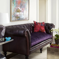 "Old Hickory Tannery - ""Shirley"" Sofa - Horchow"
