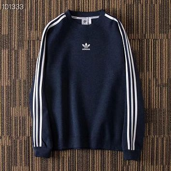 Adidas Fashion Casual Long Sleeve Sweater Pullover Sweatshirt