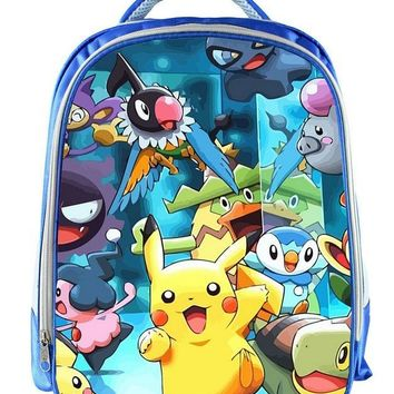 13 Inch Mochila  Pikachu Backpack For Boys School Bags Kids Daily Backpacks Children Book Bag Bags SchoolbagsKawaii Pokemon go  AT_89_9