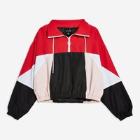 Overhead Windbreaker Jacket - Clothing