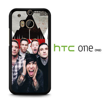 Various Sleeping With Sirens X2349 HTC One M8  Case
