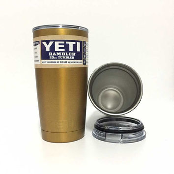 Nice Color Bilayer Stainless Steel Water Bottle Rambler Car Mug Yeti Rambler Kids Insulated Cup Cooler Yeti Tumbler Cups 20 OZ