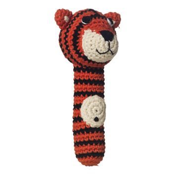 Tiger Hand Rattle