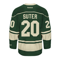 Ryan Suter Minnesota Wild Reebok Premier Replica Alternate NHL Hockey Jersey