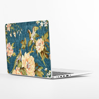 Vintage Fabric Laptop Skin