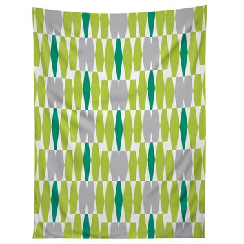 Heather Dutton Abacus Emerald Tapestry
