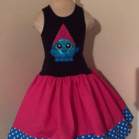 Shopkins Snow Crush Appliqued T Shirt Dress Available from 12m to 14/16