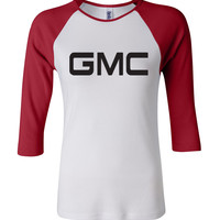 GMC 3/4 Sleeve Baseball Ladies Jersey