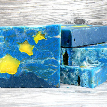 Starry Night Soap - Conditions, Soothes and Softens - Exotic, Spicy Scent
