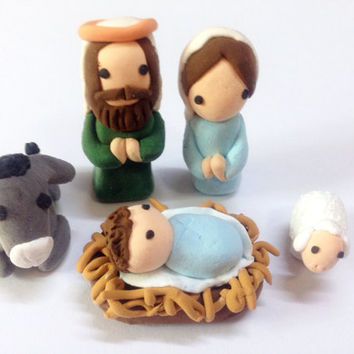 Christmas Nativity Set - Nativity Scene Decor Set