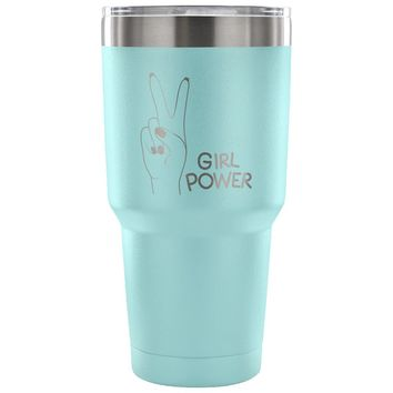 xx Girl Power 30 oz Tumbler - Travel Cup, Coffee Mug