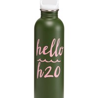 Graphic Stainless Steel Water Bottle|old-navy