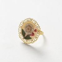 Pressed Flora Ring by Missbibi Gold 7 Jewelry