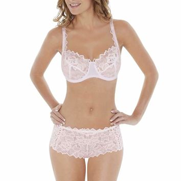 Fiore Shorts in Soft Pink by Lepel