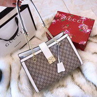 GUCCI Padlock GG medium shoulder bag