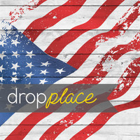 Durable Matte Vinyl Backdrop Patriotic Drops United We Stand Photo Background (Multiple Sizes Available)