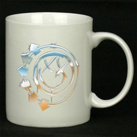 Blink 182 Water Gold Logo For Ceramic Mugs Coffee *