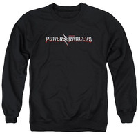 Power Rangers The Movie Logo Crewneck Sweatshirt
