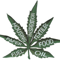 Uses of Hemp Leaf Patch on Sale for $3.99 at HippieShop.com