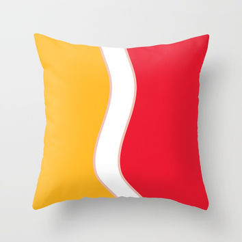 Minimal art 25 Throw Pillow by Taoteching / C4Dart