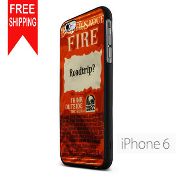 Taco Bell Sauce Packet TMN iPhone 6 Case