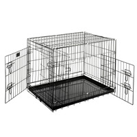 "Pet Trex 30"" Folding Pet Crate Kennel Wire Cage for Dogs - Cats or Rabbits"