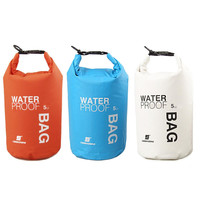 New 5L Waterproof  Water Bags Sack Pouch Canoe Portable Dry Bags for Boating Kayaking Camping Rafting Hiking EA14