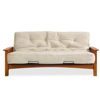 Simmons Denver Futon Frame with 8 Inch Beautyrest