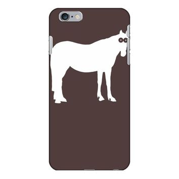 staring horse iPhone 6/6s Plus Case