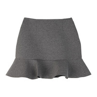 Cushion Ruffle Mini Skirt