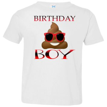 Poop Emoji Birthday Boy Shirt Available in 5 Colors!