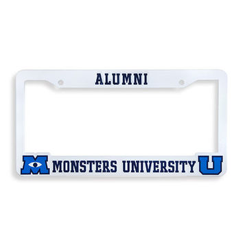 License Plate Frame | Store | Monsters from monstersuniversity.co