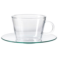 GÄLL Cup with saucer   - IKEA