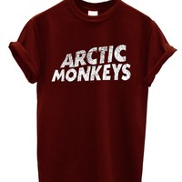 Arctic Monkeys T-shirt Rock Band New