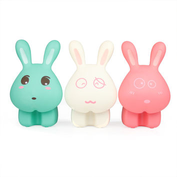 USB Rabbit LED Lights Creative Gifts Lamp [6283354118]