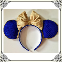 Beauty and beast ears, beast minnie ears, beast disney minnie ears, beauty and the beast minnie ears, beast mickey minnie headband ears