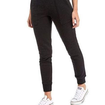 DCCKFC8 Calvin Klein Fashion Stretch Gym Sport Running Pants Trousers Sweatpants Trousers
