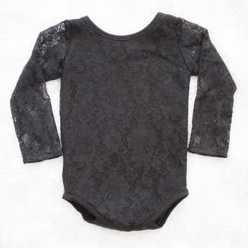 Black Lace Leotard ©