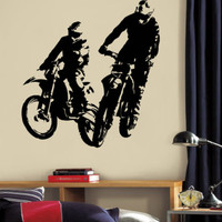 Wall Decal Vinyl Sticker Dirty Motocross Motorcycle  Moto Sport  Kid r1361