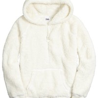 HOODED FLEECE PULLOVER | GIRLS {CATEGORY} {PARENT_CATEGORY} | SHOP JUSTICE