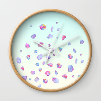 Shine bright Wall Clock by printapix