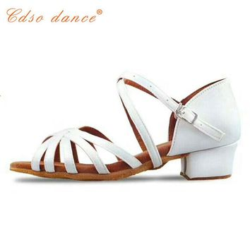 Cdso dance  Children white/black/beige/bronze/ latin/modern/Kids Sneakers dance shoes Girls Shoes Ballroom Salsa Shoes