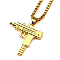 Supreme Uzi Necklace