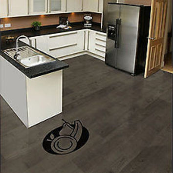 Fruit Kitchen Floor Decoration Sticker Floor Kitchen Cooking Chef  Vinyl tr1841
