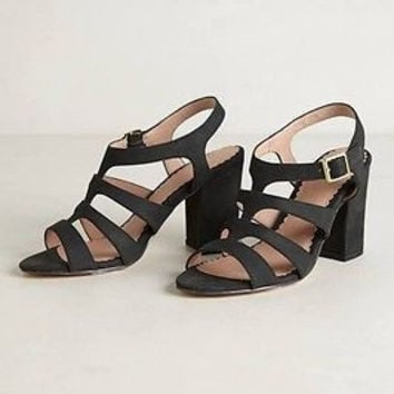 NIB Anthropologie Cordova Heels Sz 8.5 B - by Miss Albright