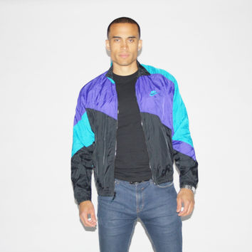 Nike Colorblock Windbreaker Jacket