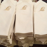 best monogrammed dinner napkins products on wanelo